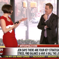 Sharing tips for Reducing Holiday Stress on Good Day Philadelphia